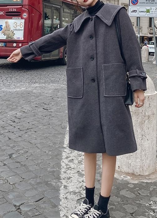 靓丽的呢大衣,冬季里的一道风景线!-幽兰花香