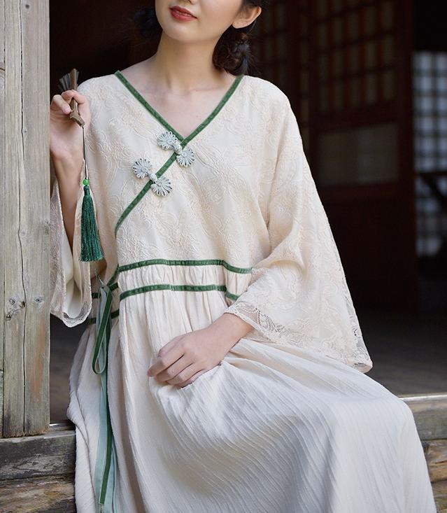 改良旗袍,一道靓丽的风景线!-幽兰花香