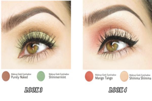 眼影颜色搭配口诀 教你四种眼影颜色搭配-幽兰花香