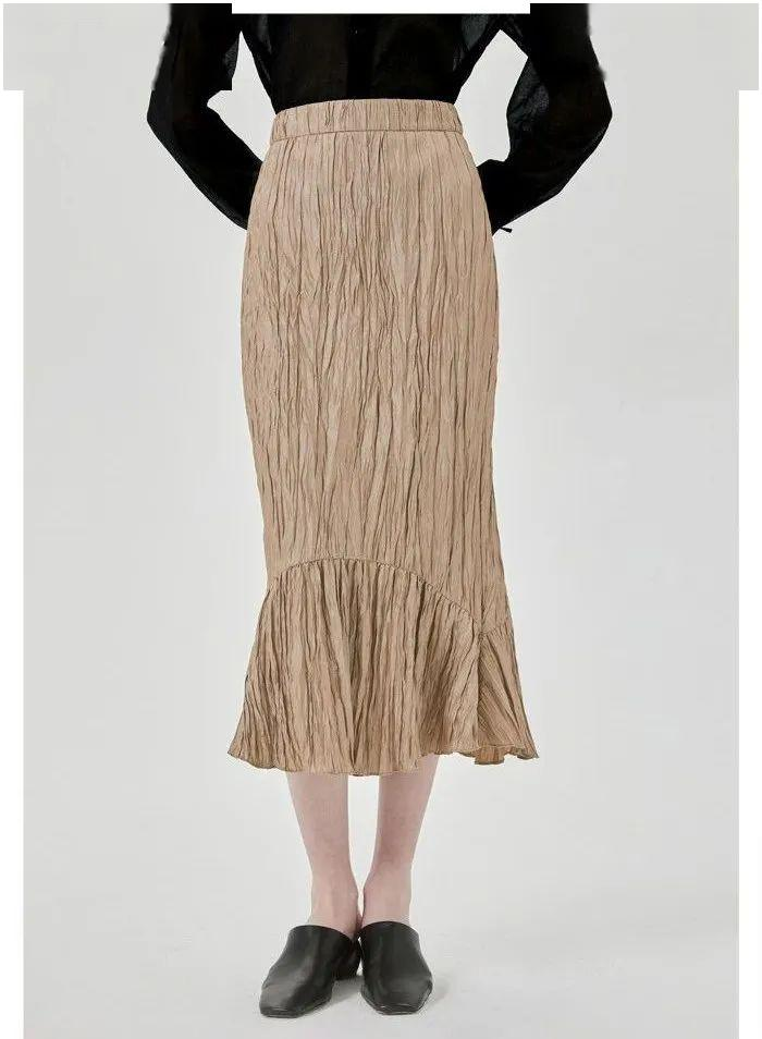 夏天来了,谁能阻止女生穿裙子呢?半身裙更具实用性-幽兰花香