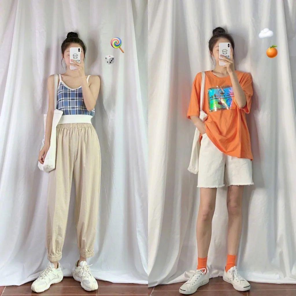 基础款服装也能搭出简约舒适的夏日时尚造型-幽兰花香