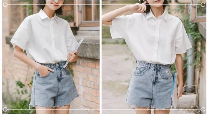 衬衫怎么搭配比较时尚