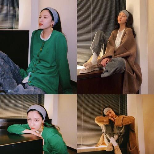 拯救发际线大作战:宋茜宋妍霏的发带真上头!-幽兰花香