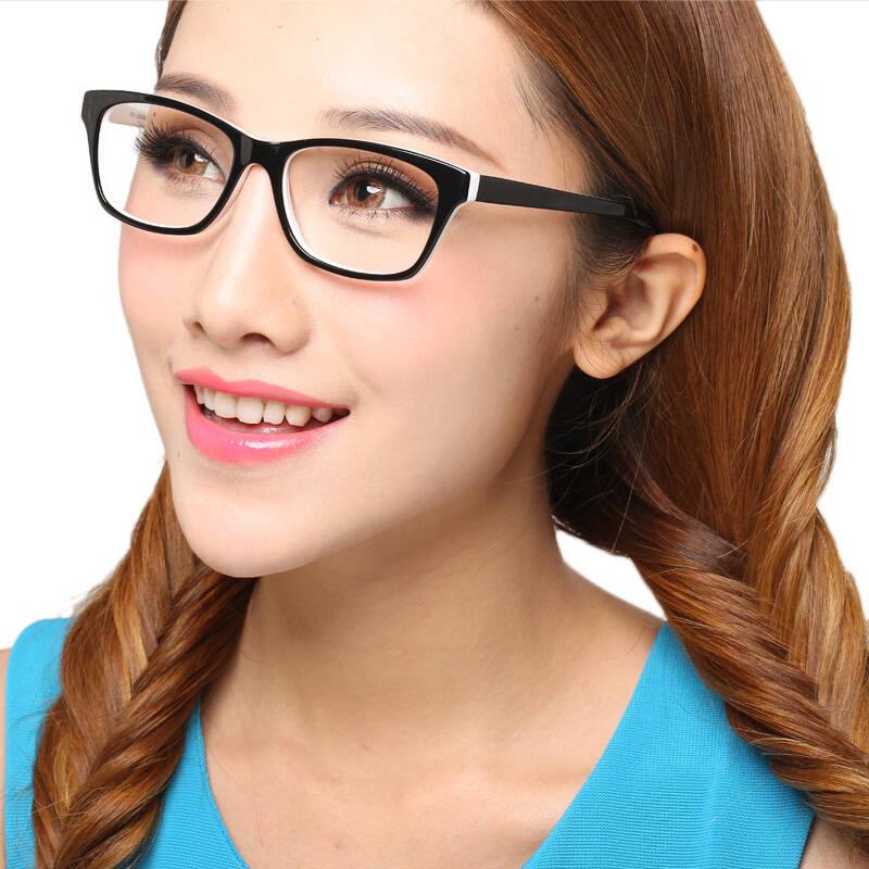戴上眼镜的你也能像倪妮一样又瘦又美-幽兰花香
